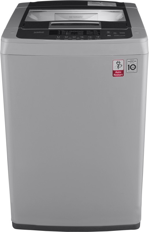 LG 6.5 kg Inverter Fully Automatic Top Load Silver(T7569NDDLH)